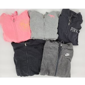 BUNDLE Nike Victoria's secret PINK sweatshirts